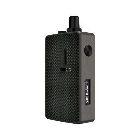 cheap 80W Mechlyfe Ratel XS AIO TC Rebuildable Pod System Kit - Gun Metal & Carbon Fiber