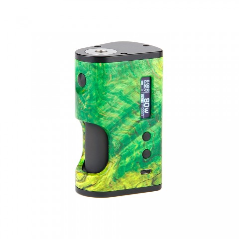 cheap 80W ULTRONER Aether Squonker TC Box Mod - Green Standard Edition