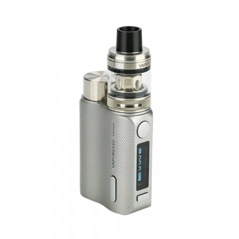 cheap 80W Vaporesso Swag II TC Kit with NRG PE Tank - Silver Standard Edition