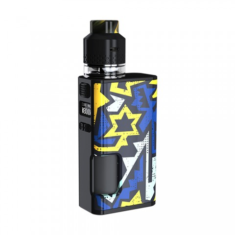 cheap 80W WISMEC Luxotic Surface Squonk TC Kit with Kestrel Tank - Unistar 4ml