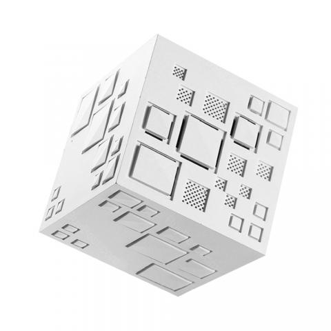 cheap Q+ Magic Cube Bluetooth Speaker - White