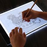 Writing Painting Light Box Tracing Pads Digital Drawing Tablet - Black/White Type A-2