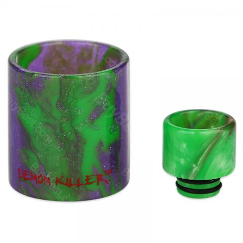 Demon Killer Resin Tube & Drip Tip for iJust S