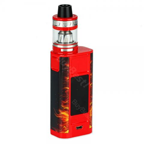 cheap 228W Joyetech CUBOID TAP Kit with ProCore Aries Tank  - Red