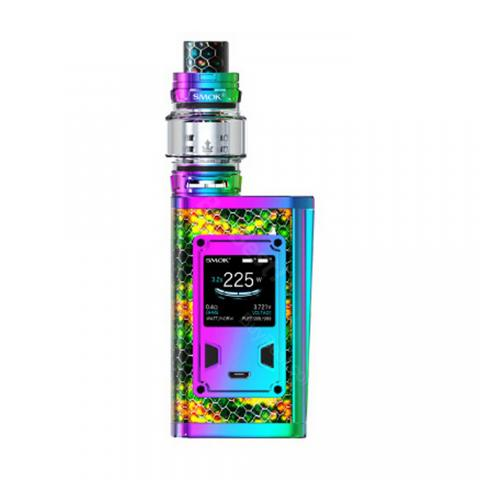 cheap 225W SMOK Majesty TC Kit with TFV12 Prince Tank Black Cobra Version - Rainbow 2ml