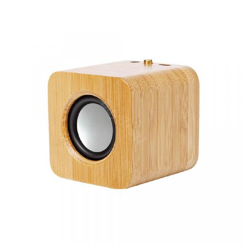 cheap Mini Wooden Box Bluetooth Speaker - Wood