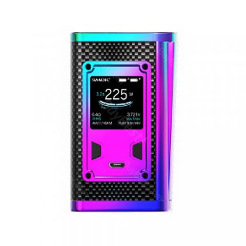 cheap 225W SMOK Majesty TC Box MOD Carbon Fiber Version - Rainbow