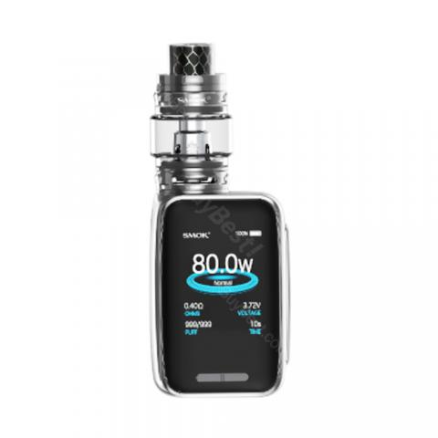 cheap 80W Smok X-PRIV Baby Kit with TVF12 Baby Tank-2300mAh, Gun Metal 4.5ml