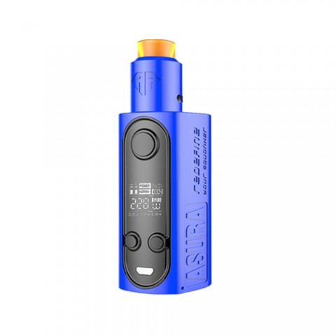 cheap 228W Hugo Vapor Asura TC/Squonk Starter Kit - Blue