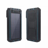 ET Waterproof Solar Powerbank for iPhone/Xiaomi - 6000mAh, -1