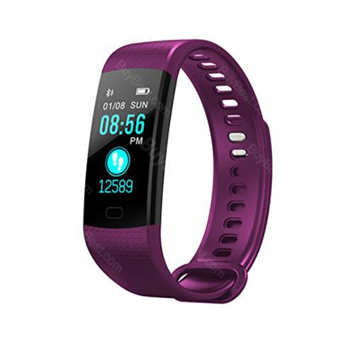 cheap Mrs Win Y5 Smart Bracelet Sport Heart Rate Monitor - Purple