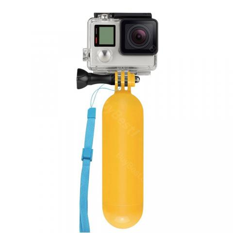Yellow Handheld Diving Selfie Stick for GOPRO