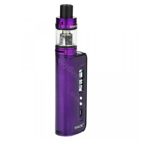 cheap 80W SMOK OSUB TC Kit with TFV8 Baby Tank - Purple Standard Edition