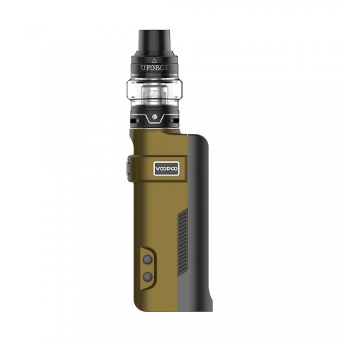 cheap 80W VOOPOO REX TC Kit with UFORCE Tank - Olive 5ml