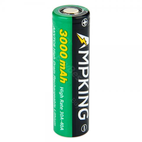 Ampking AKVTC6 18650 40A High-drain Battery - 3000mAh