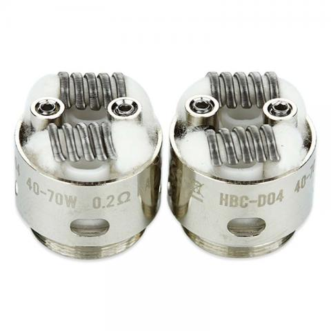 cheap GeekVape Eagle Replacement HBC Coil 2pcs/pack - HBC-D04
