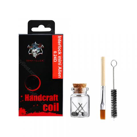 Demon Killer Interlock Mini Alien Coil 2pcs/pack