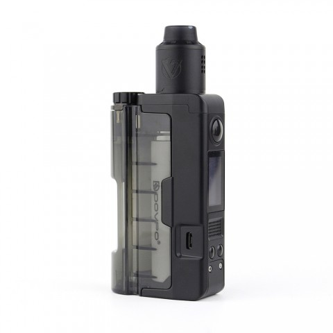 cheap 90W Dovpo Topside Lite TC Squonk Kit with Variant RDA - Black