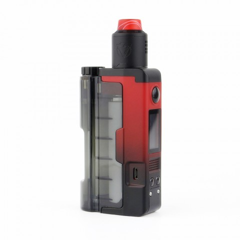 cheap 90W Dovpo Topside Lite TC Squonk Kit with Variant RDA - Red