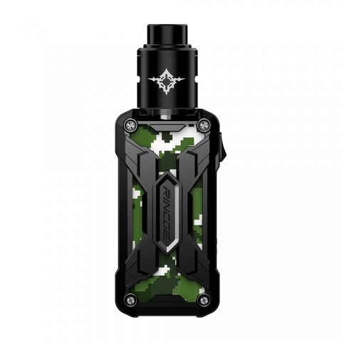 cheap 90W Rincoe Mechman Nano RDA Kit - Camo Standard Edition