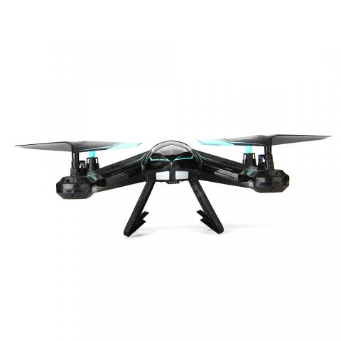cheap Remote Control Aircraft/Quadrocopter with 200W Camera - Blue