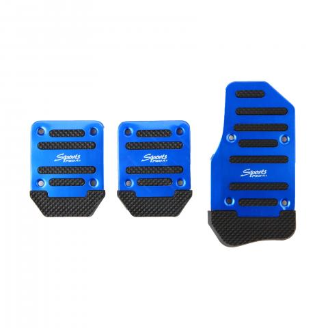 cheap Anti-skid Pedals for Manual/Automatic Block Car, A1 Blue