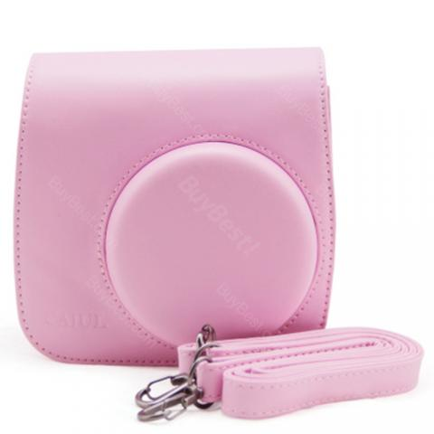 cheap Mini Camera Bag for Instax Mini8/8+/9 - Pink