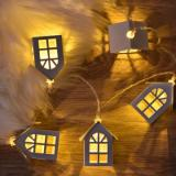 G&T LED Christmas Tree House Christmas Decoration Gift - White Type A-3