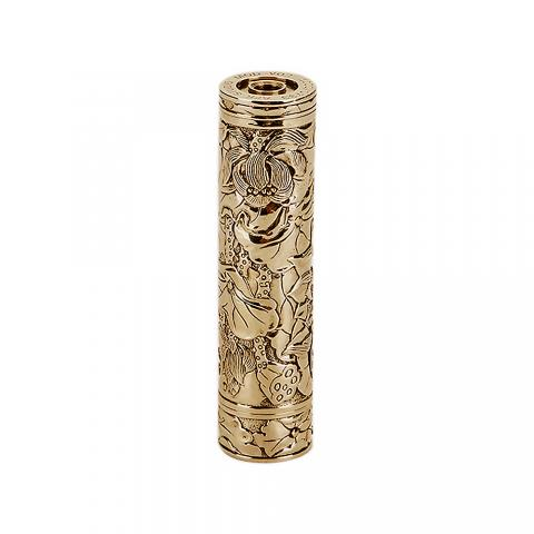 cheap AFK Studio Lotus Manual Carving Mech Mod - White copper+Brass