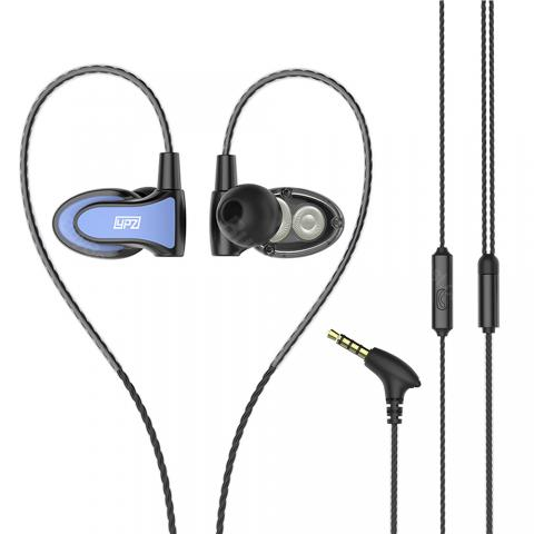 Sports Earphone with Microphone and Ear Hook