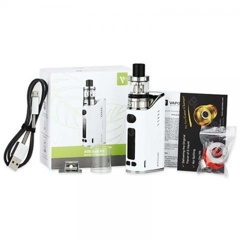 cheap 80W Vaporesso Attitude EUC Kit   - White
