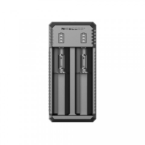 cheap Nitecore UI2 2-slot Portable USB Li-ion Battery Charger , Black