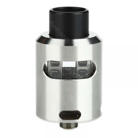 cheap GeekVape Tsunami 24 RDA Tank with Glass Window - Silver