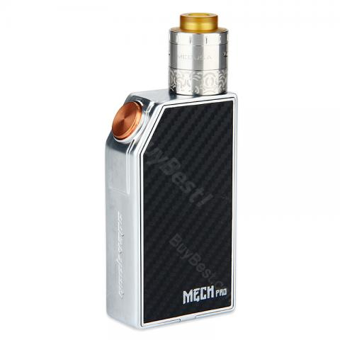 cheap GeekVape MECH Pro Kit with Medusa RDTA Tank - Silver