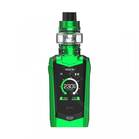 cheap 230W Smok Species Kit with TFV8 Baby V2 Tank Touch Screen - Green/Black 2ml