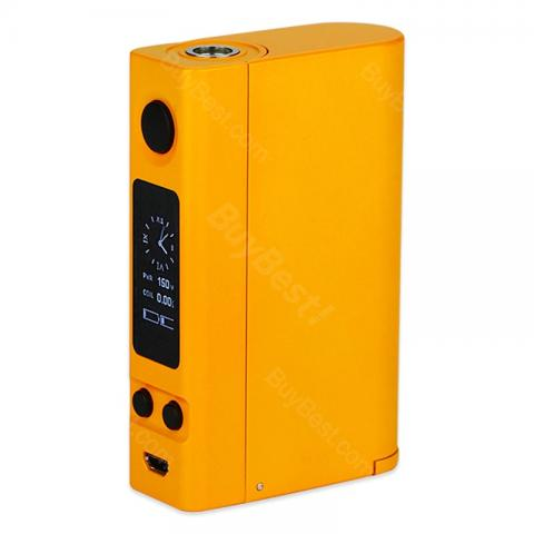 cheap 150W Joyetech eVic VTC Dual TC MOD  - Orange