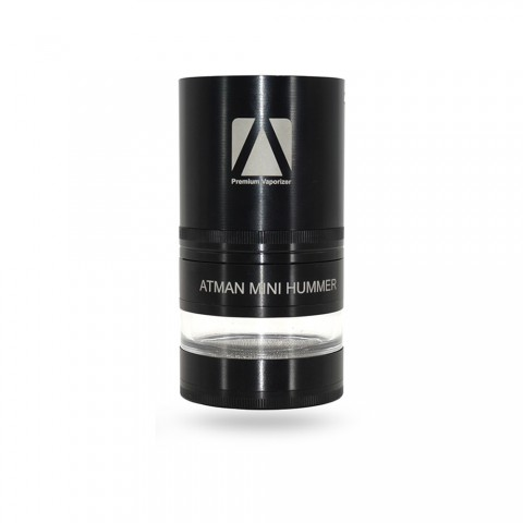 cheap ATMAN Mini Hummer Dry Herb Grinder - 900mAh, Black