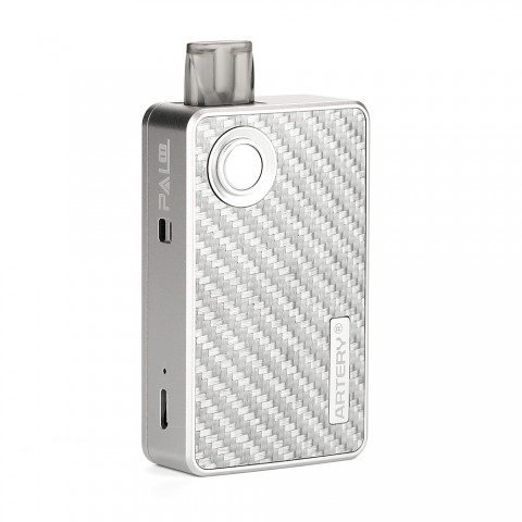 cheap Artery PAL II Pod Starter Kit - 1000mAh, Silver Carbon Fiber 3ml Standard Edition