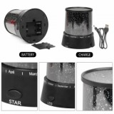 BDBJJ-1 Moon Starry Sky Projector, Black-4