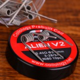 Coilology Alien V2 Coil 10pcs/pack - 0.34ohm-1