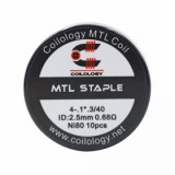 MTL Staple Coil 10pcs