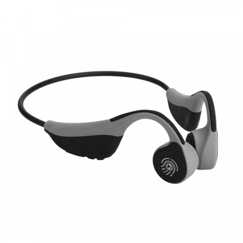 cheap ET FLKJ-1 V9 Bone Conduction Bluetooth Headset , Gray