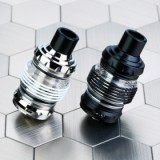 Eleaf Melo 5 Atomizer - 2ml/4ml, Silver 4ml-4