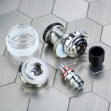 Eleaf Melo 5 Atomizer - 2ml/4ml, Silver 4ml-2