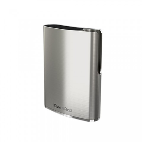 cheap Eleaf iCare Flask Battery - 520mAh, Silver Standard Edition
