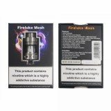 Freemax Fireluke Mesh Subohm Tank - 2ml, Silver Stainless Steel TPD Version-2