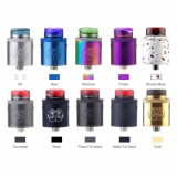 Hellvape Drop Dead RDA - White/Red-1