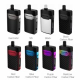 Hellvape Grimm Pod System Kit - 1200mAh, Red Carbon fiber 3ml Standard Edition-1