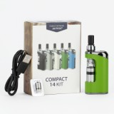 JUSTFOG Compact 14 Box Starter Kit - 1500mAh, Green Standard Edition-2