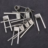 Lvs Easy Coil Cotton N80 - 10pcs N80 Wires with 10 pcs Cotton , 0.22ohm-2